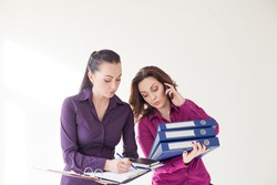 Secretary and Director of studying documents