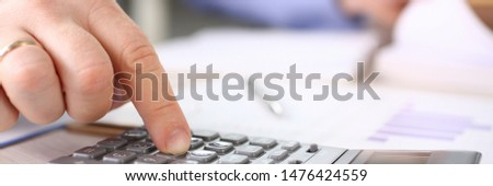 Secretary Calculate Finance Budget Tax Expenses. Business Man Financial Inspector Making Report, Calculating Balance. Internal Revenue Service Checking Document. Corporate Audit Concept