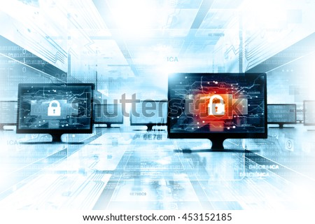 Secure network background