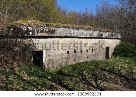 Securing position North - Bunker from the First World War, South Denmark, Denmark #1388992691