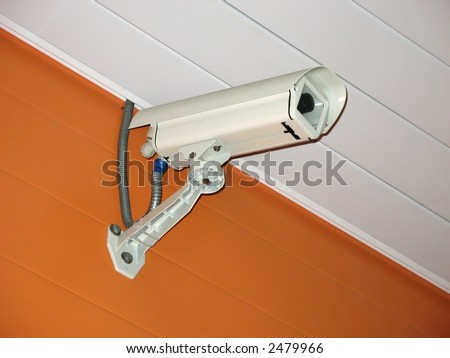 security camera (video control system)