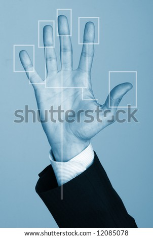 Security Concept, Hand