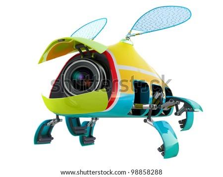 3D модель - шпионский мухалет