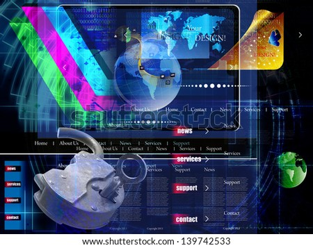 Internet Security Safety Security Internet Network