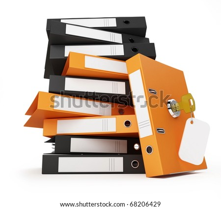 security office documents and folders