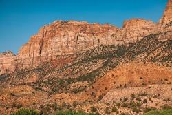 Sedimentary Rocks at Zion National Park