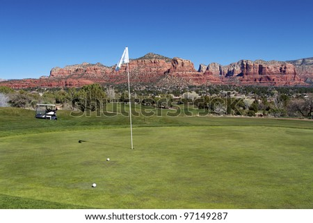Sedona Arizona Golf Course