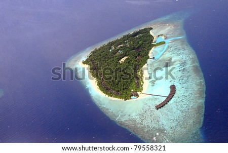 see from airtaxi in beautiful maldives, filitheyo