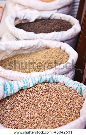 Seeds from Moroccan Market