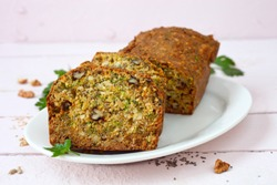 Seedy Nut Low Carb Bread With Herbs