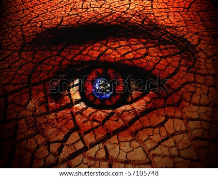 Seeing The World Through My Eyes Conceptual Background