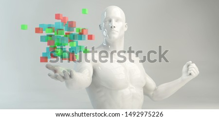 Seeking Inspiration or Looking to be Inspired For Art 3d Render