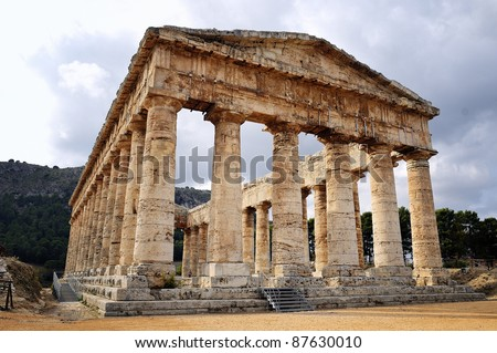 Segesta- Greek Temple, Sicily, Italia