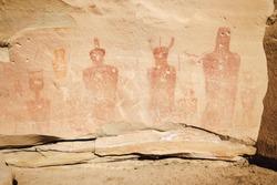 Sego Canyon Large Figure Pictographs