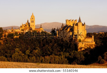 stock photo : Segovia, Castile and Leon, Spain