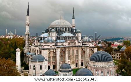 Sehzade Mosque ( Prince mosque ). Istanbul, Turkey