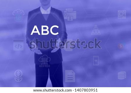 select ABC - technology concept