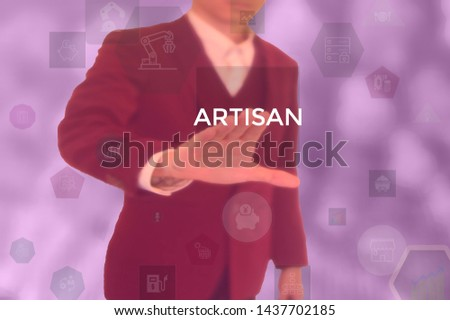 select ARTISAN - technology and business concept