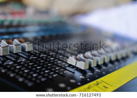 select focus sound music mixer control panel