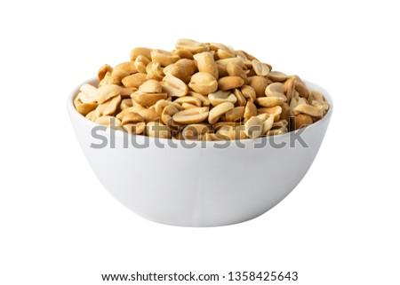 Selected peanut in separate pot #1358425643