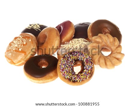 Selection of Doughnuts