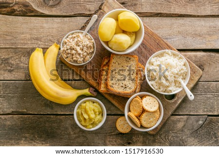 Selection of food to consume while diarrhea, wppd background