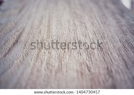 Selective focus on wood surfaces. Wood surfaces are polished by skilled carpenters. #1404730457