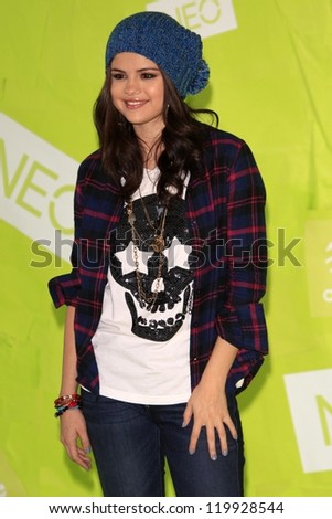 Selena Gomez attends the launch for the Adidas NEO clothing label, Private Location, Los Angeles, CA 11-20-12