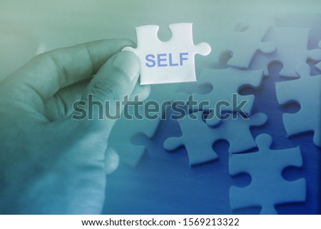 Self awareness , find your self  ストックフォト ©