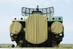 Self-propelled  complex with radars and missile containers