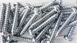 Self-tapping screws for construction, repair and installation of structures