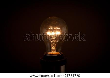 Selfless light bulbs, in the light