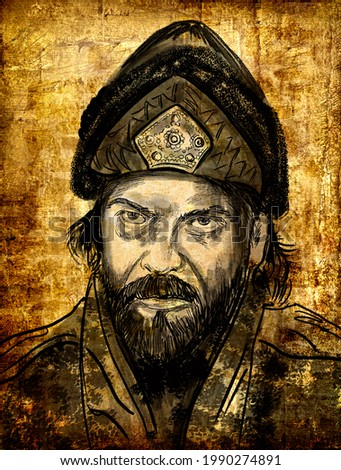 """Selim II - the eleventh sultan of the Ottoman Empire, ruled from 1566-1574. Third son and fourth child of Sultan Suleiman I """"Magnificent"""""""
