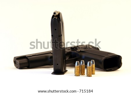 semi-automatic handgun bullets