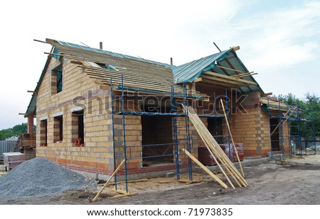 semi-constructed cottage