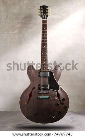 semi hollow body guitar
