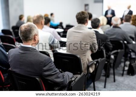 Seminar, Classroom, Adult.