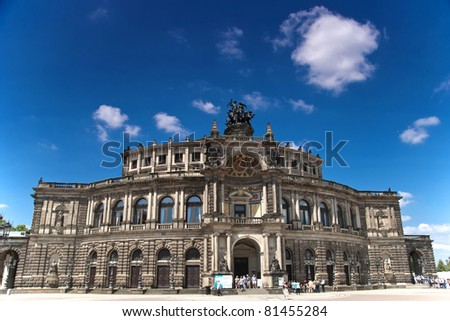 Semperoper - Opera of Dresden