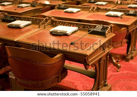 Senate Desks