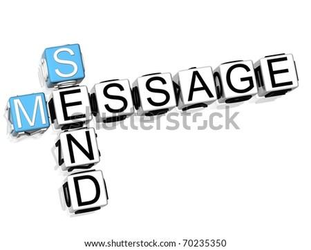 Send Message - stock photo