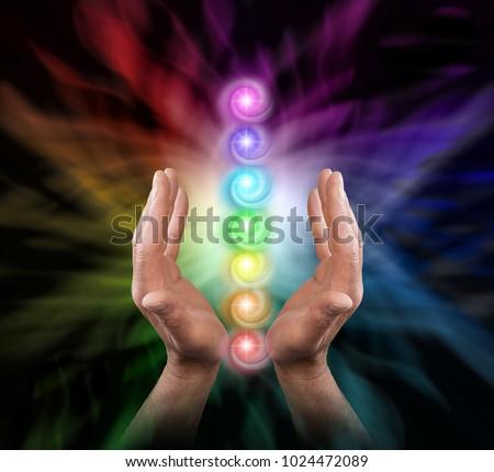sending chakra healing energy   ...