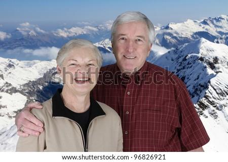 Senior Citizens on a enjoying their vacation