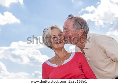 senior couple enjoying retirement