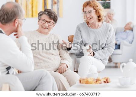 senior happy women and older...