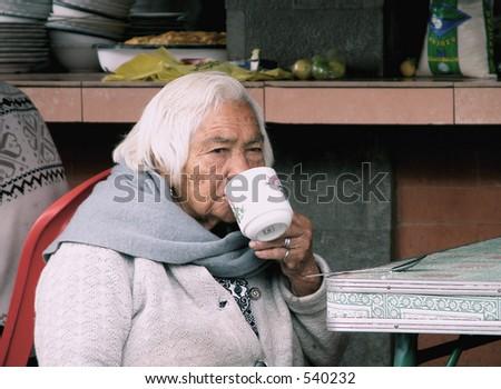 Senior woman from Ecuador, South America