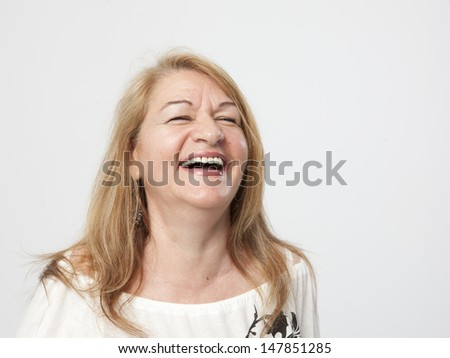 senior woman portait #147851285