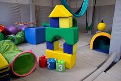 sensory integration room in the center for children