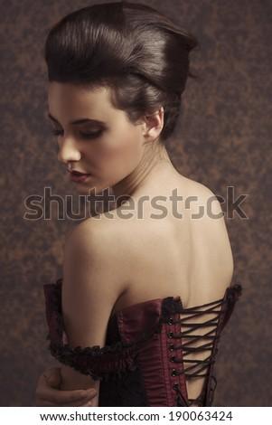 sensual sweet portrait of...