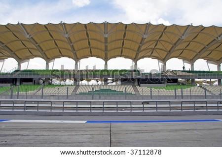 Sepang circuit Malaysia front view