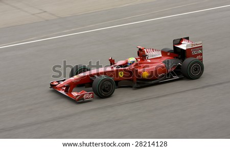 SEPANG, MALAYSIA - APRIL 5: Felipe Massa of Scuderia Ferrari in action during the 2009 Formula 1 PETRONAS Malaysian Grand Prix April 5, 2009 in Sepang International Circuit, Malaysia.